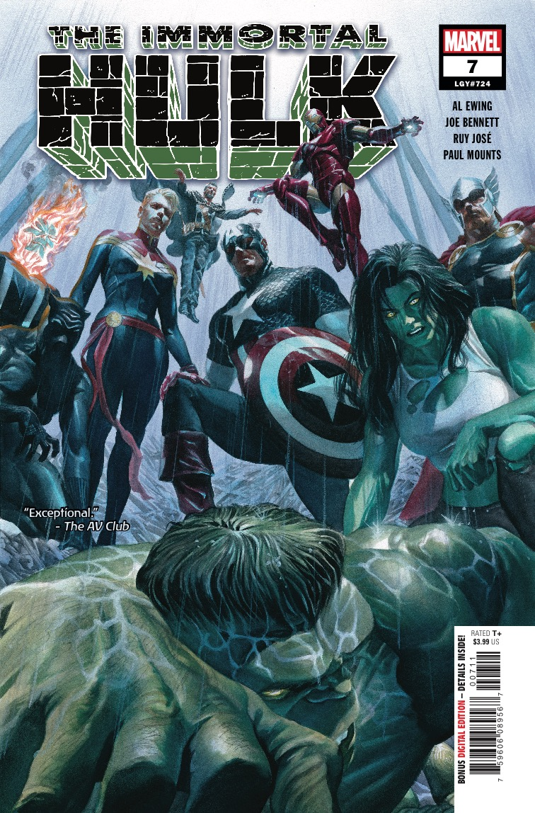 Marvel Preview: The Immortal Hulk #7