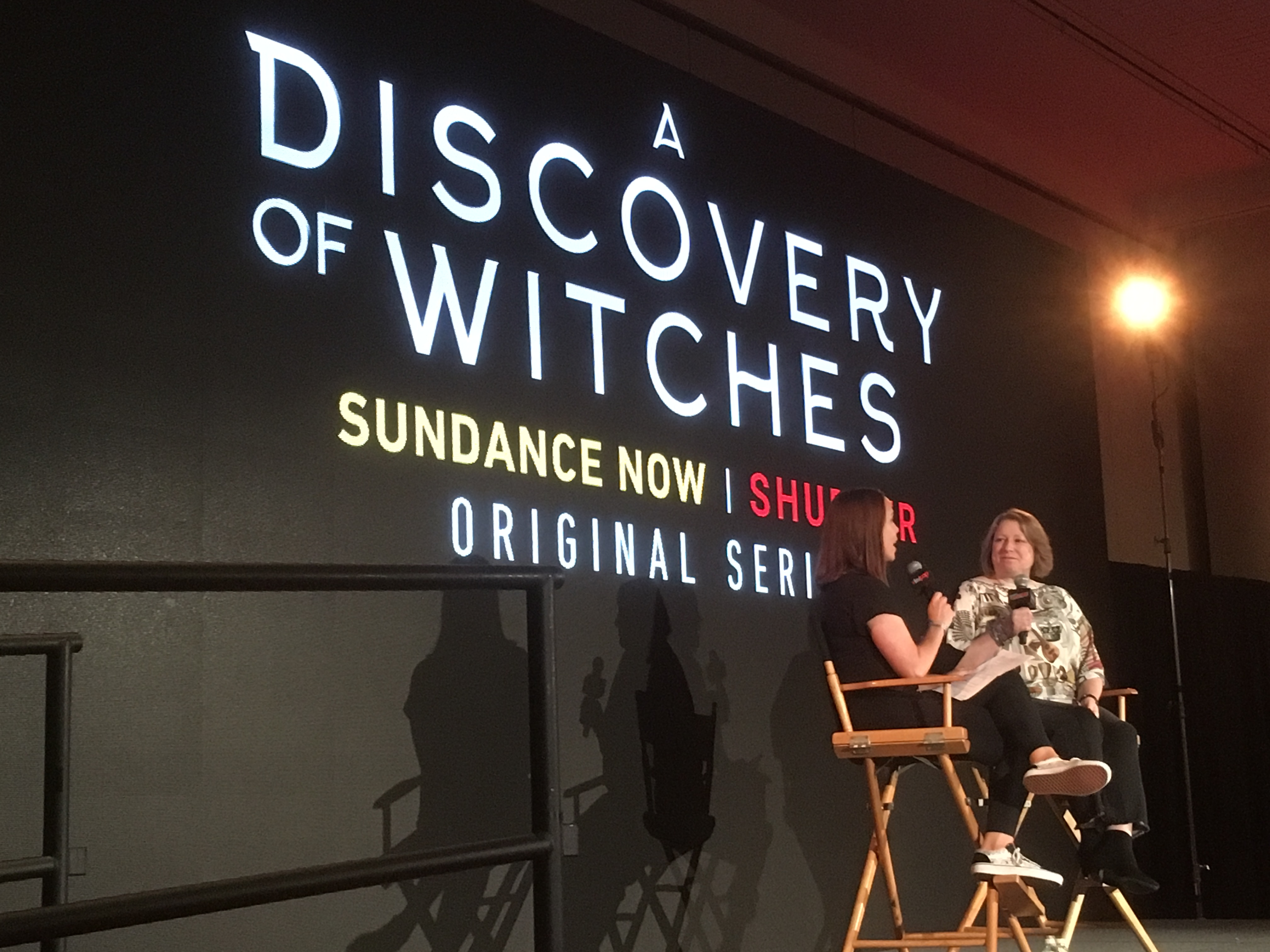 NYCC 2018: Comic Con audience treated to exclusive screening of 'A Discovery of Witches' episode 1