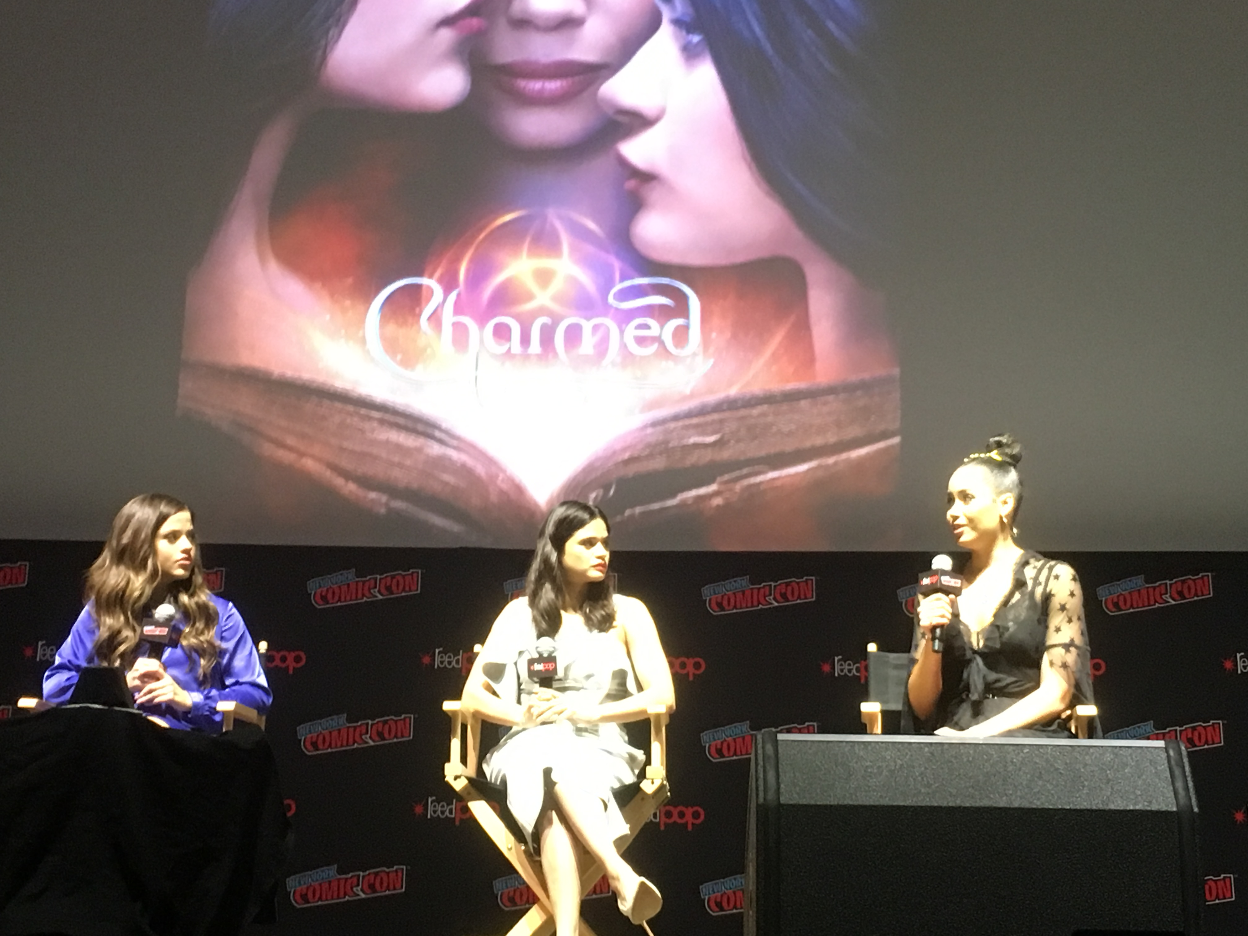 The rebooted 'Charmed' pilot debuted at NYCC. Does it recapture the magic?