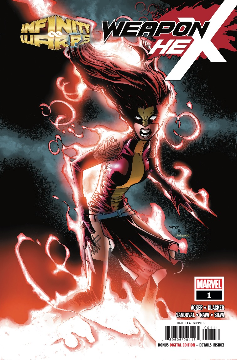Marvel Preview: Infinity Warps: Weapon Hex #1