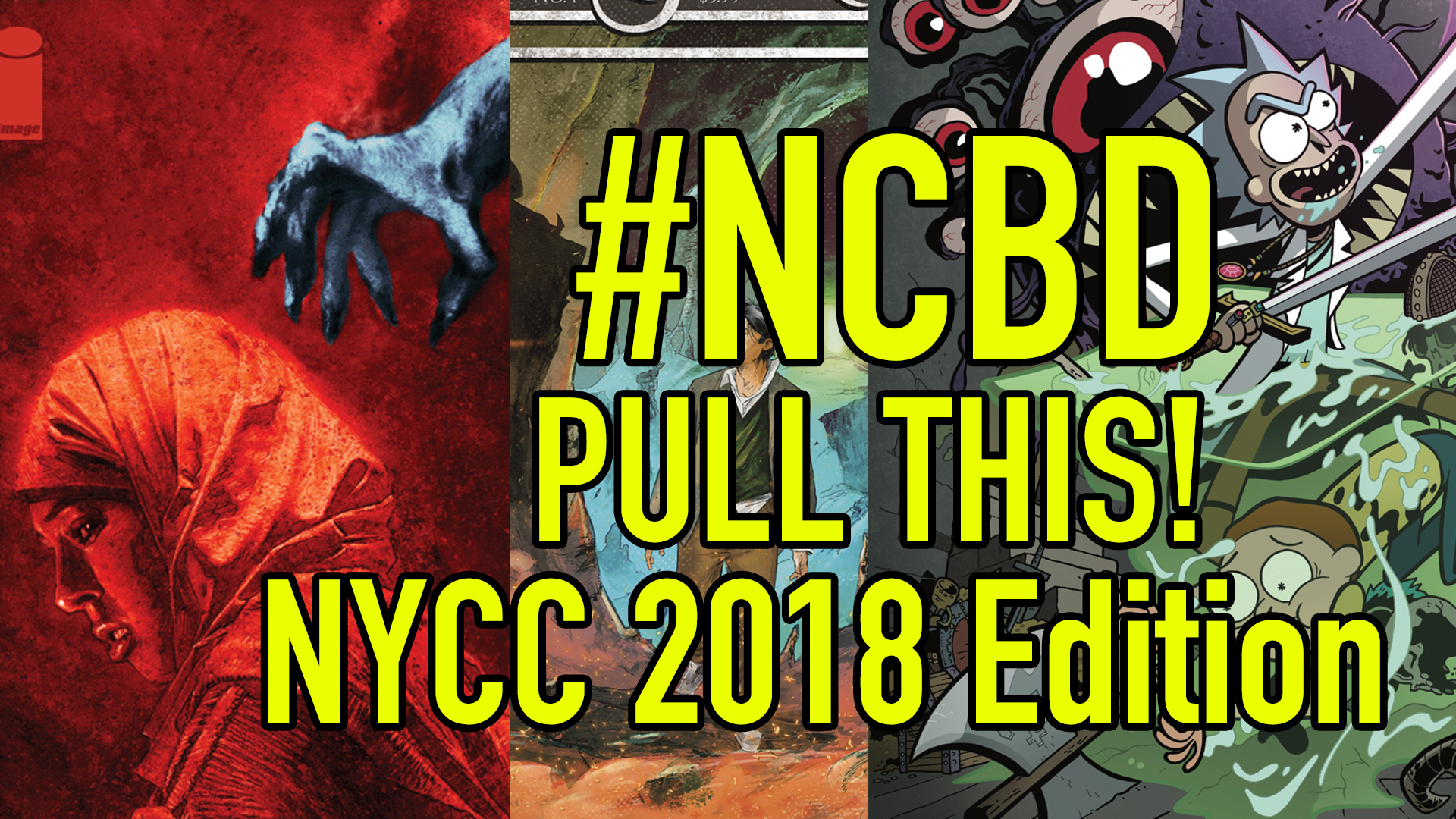 #NCBD Pull This! NYCC 2018 Edition: Greg Pak, Ed Brisson, Wes Craig, and more talk comics