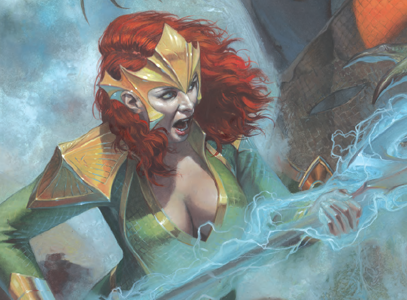 A strong Mera-focused issue that reveals her importance in the 'Drowned Earth' event.