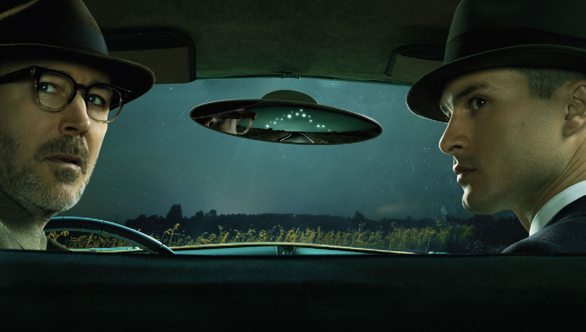 What's the deal with that UFO dogfight in History Channel's 'Project Blue Book'? Here's the real story