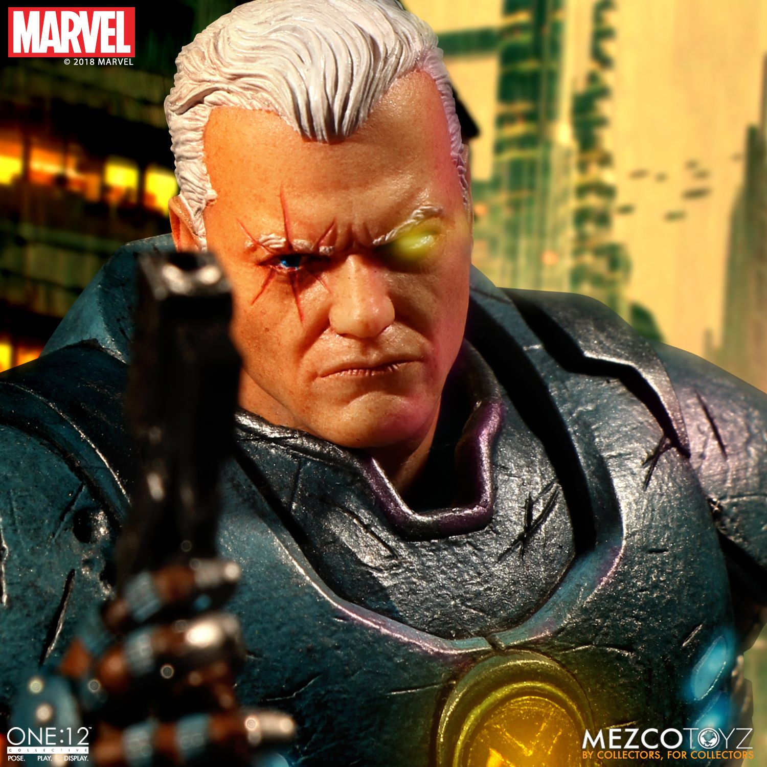The One:12 Collective Cable figure from Mezco