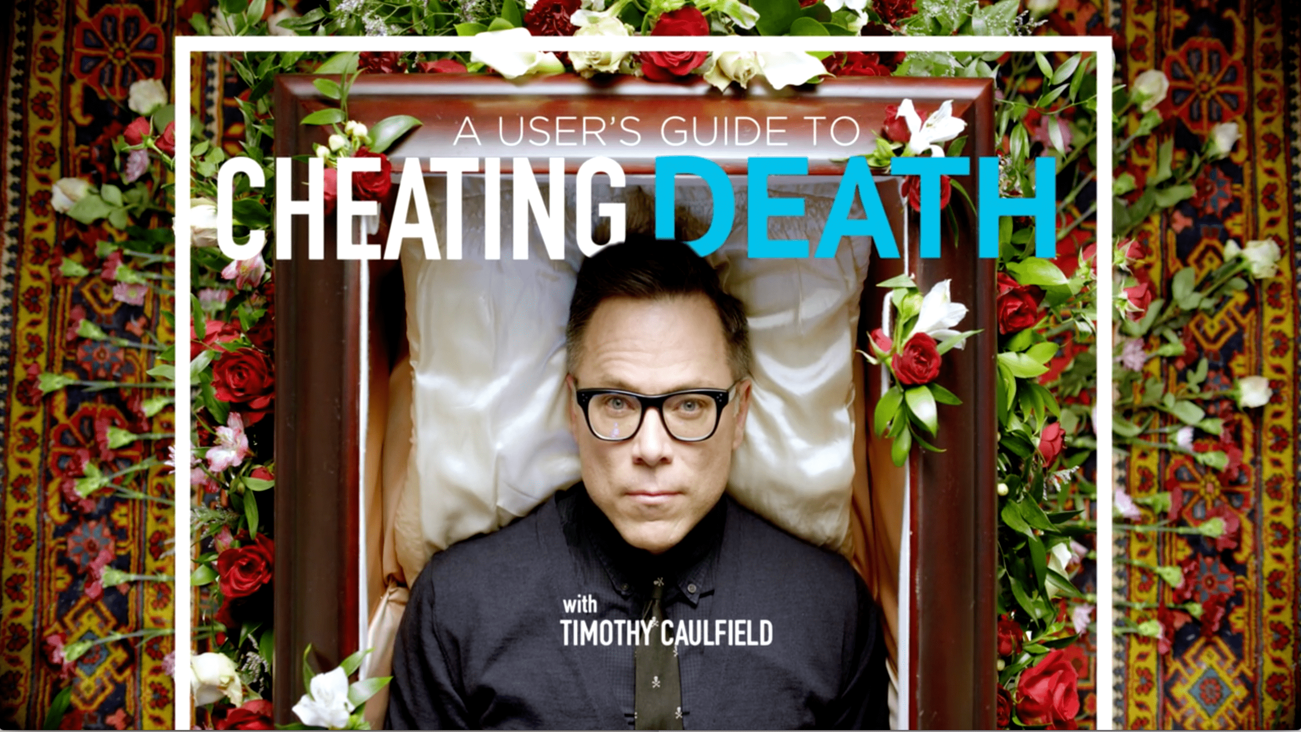 'A User's Guide to Cheating Death:  Detox' -- how does Timothy Caulfield approach this?