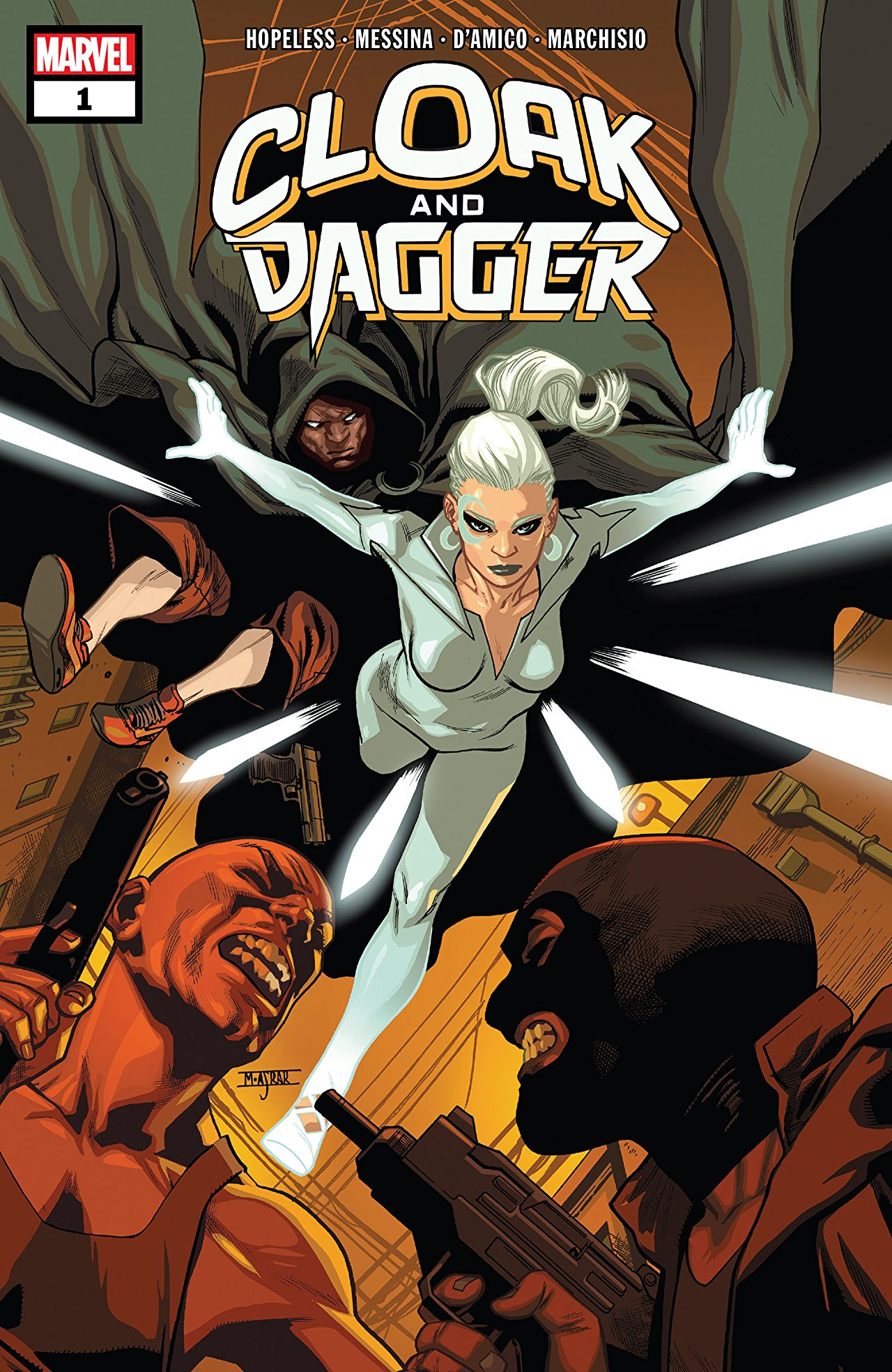 A new 'Cloak and Dagger' digital series is on the way from Dennis Hopeless [NYCC 2018]