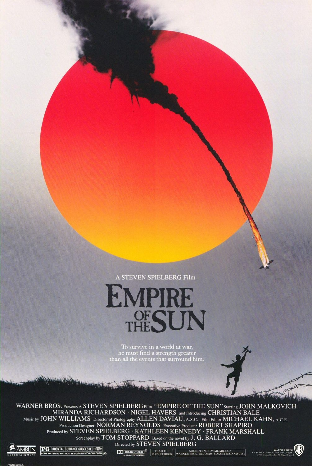 Empire of the Sun (Movie) Review: Underrated Spielberg gem that may be as good as 'Private Ryan'