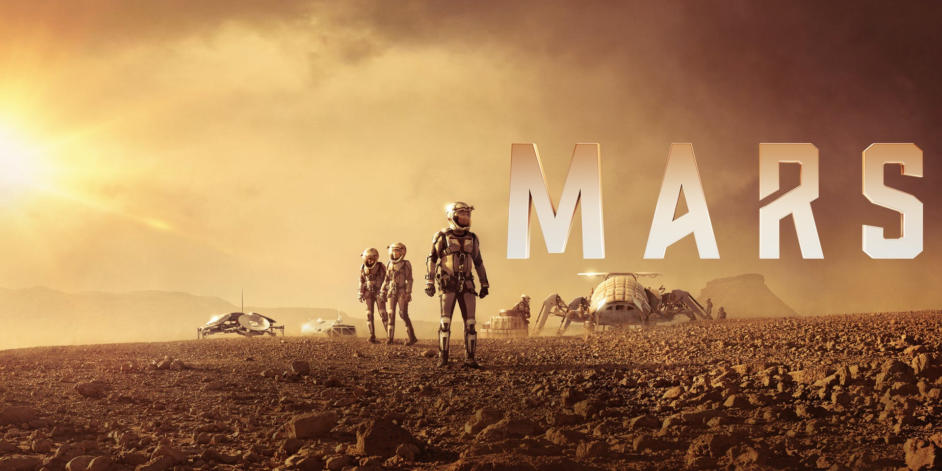 NYCC 2018:  When earthlings become Martians -- National Geographic's 'Mars,' season 2