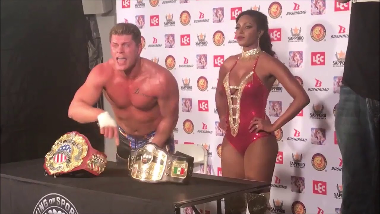 Cody Rhodes wins the IWGP United States Championship