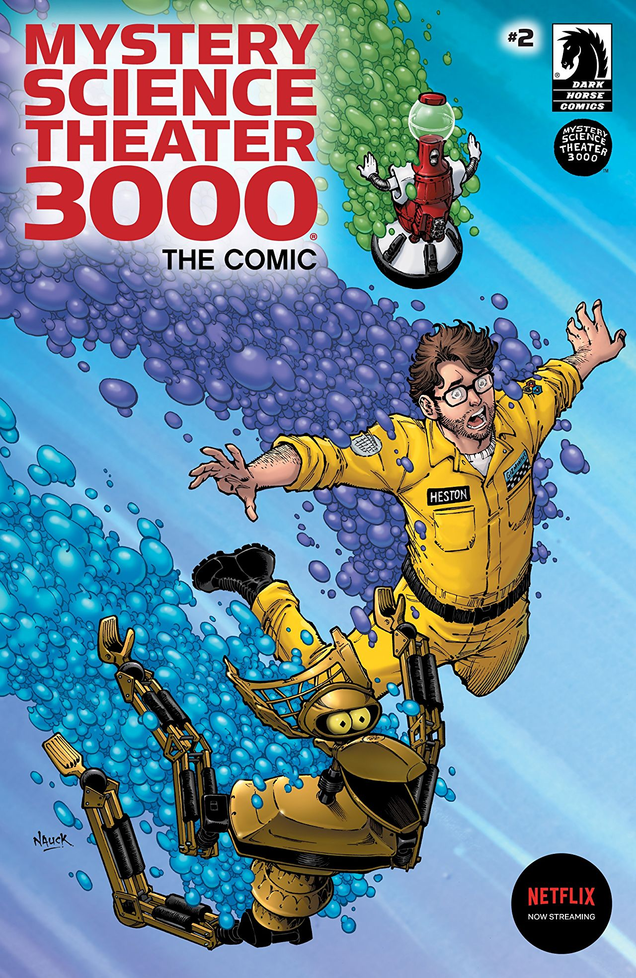 Mystery Science Theater 3000 The Comic #2: Adventures in Pulp