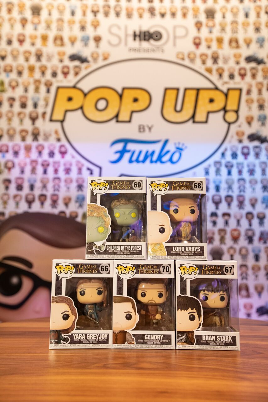 Stop by the HBO Pop-Up Funko Shop for Game of Throne exclusives and more!