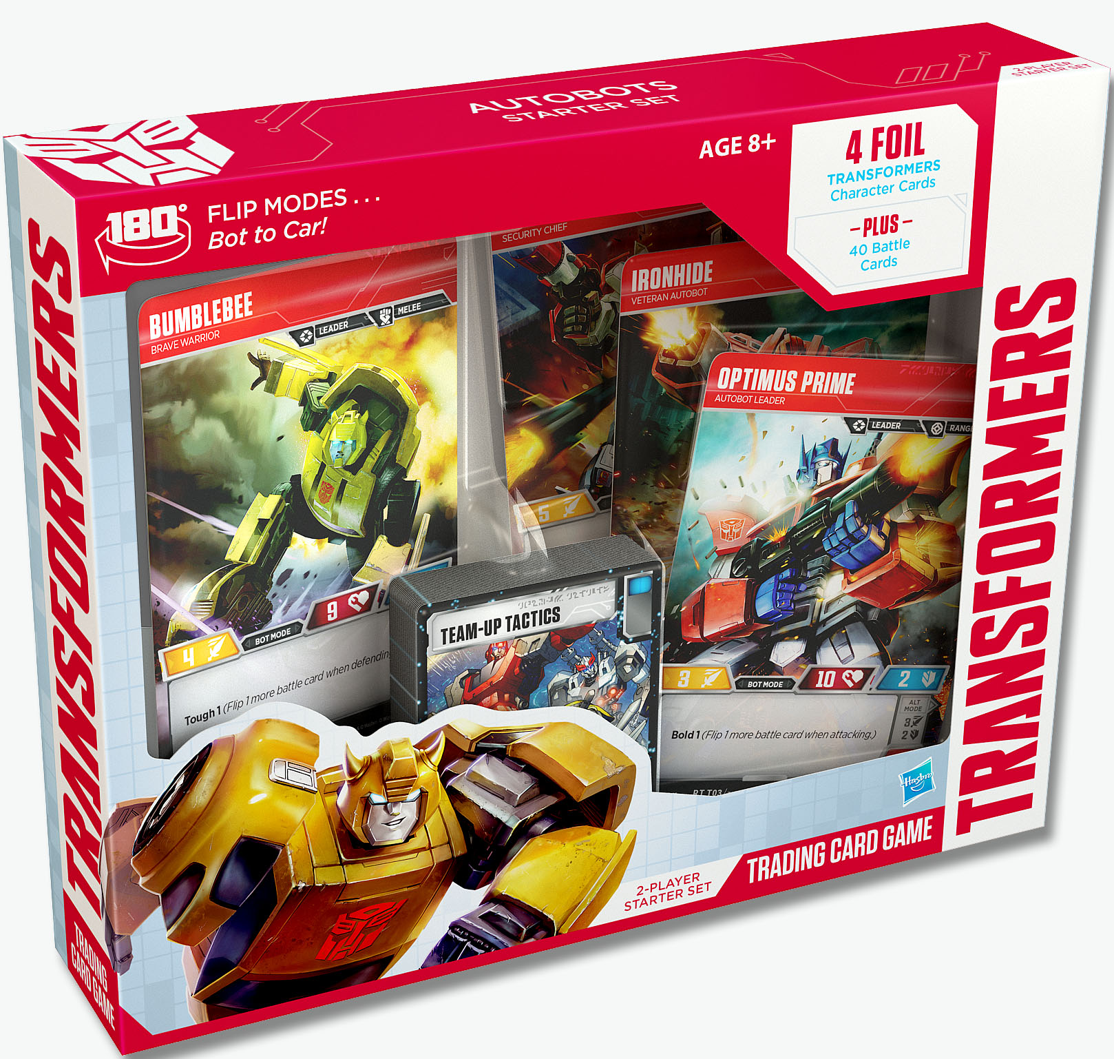 [WATCH] Roll out for the new Transformers Trading Card Game