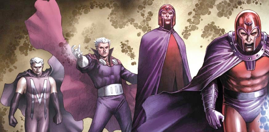 It's X-Men Fashion Friday and our panel of fashion judges are evaluating the master of magnetism's many costumes.