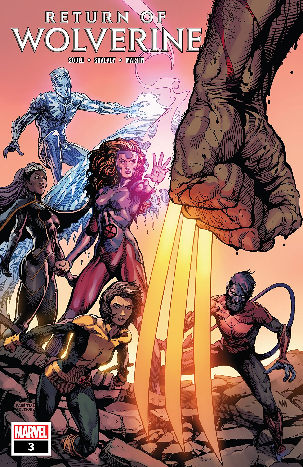 Marvel Preview: Return of Wolverine #3