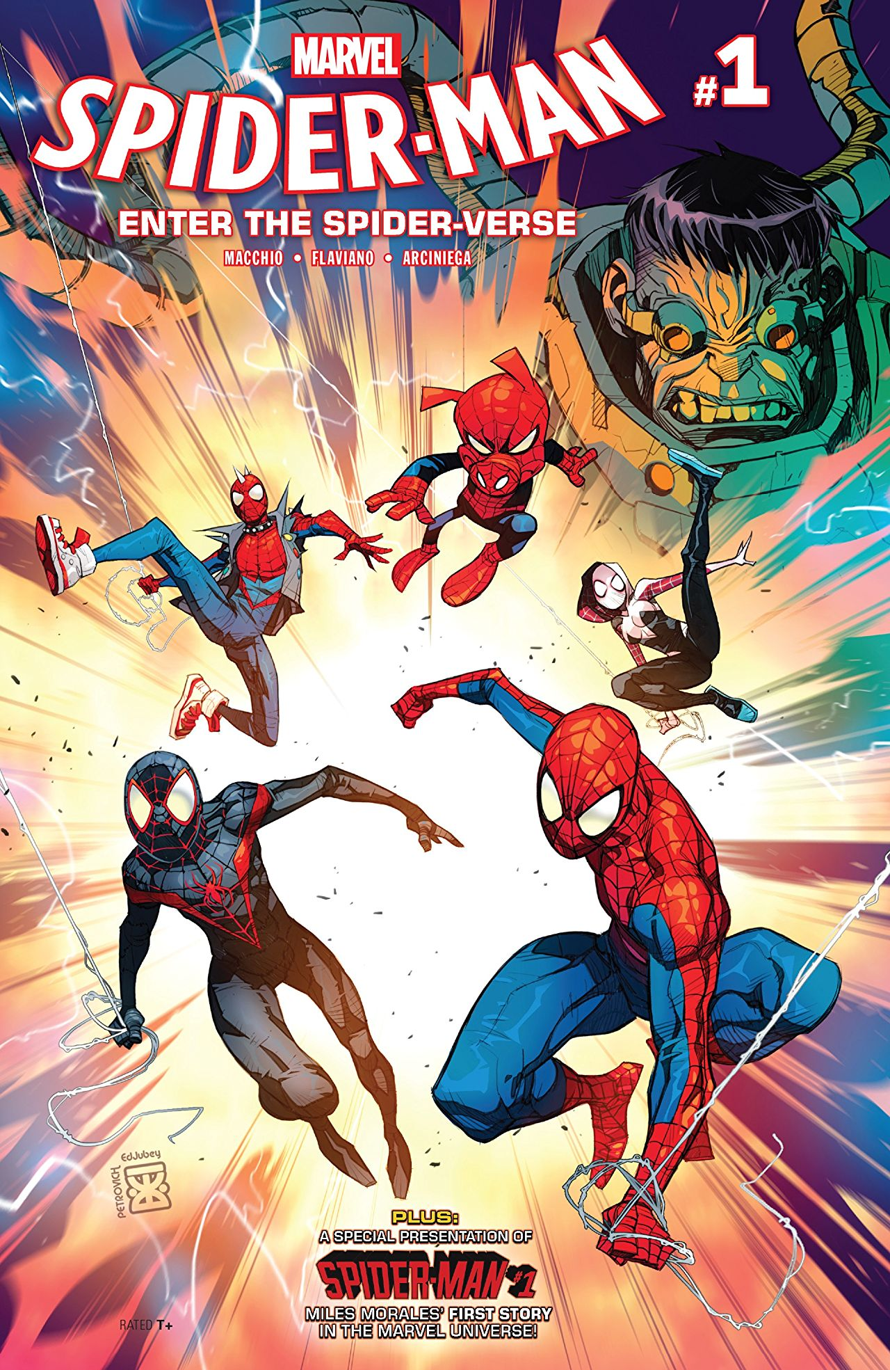 Marvel Preview: Spider-Man: Into The Spider-Verse #1