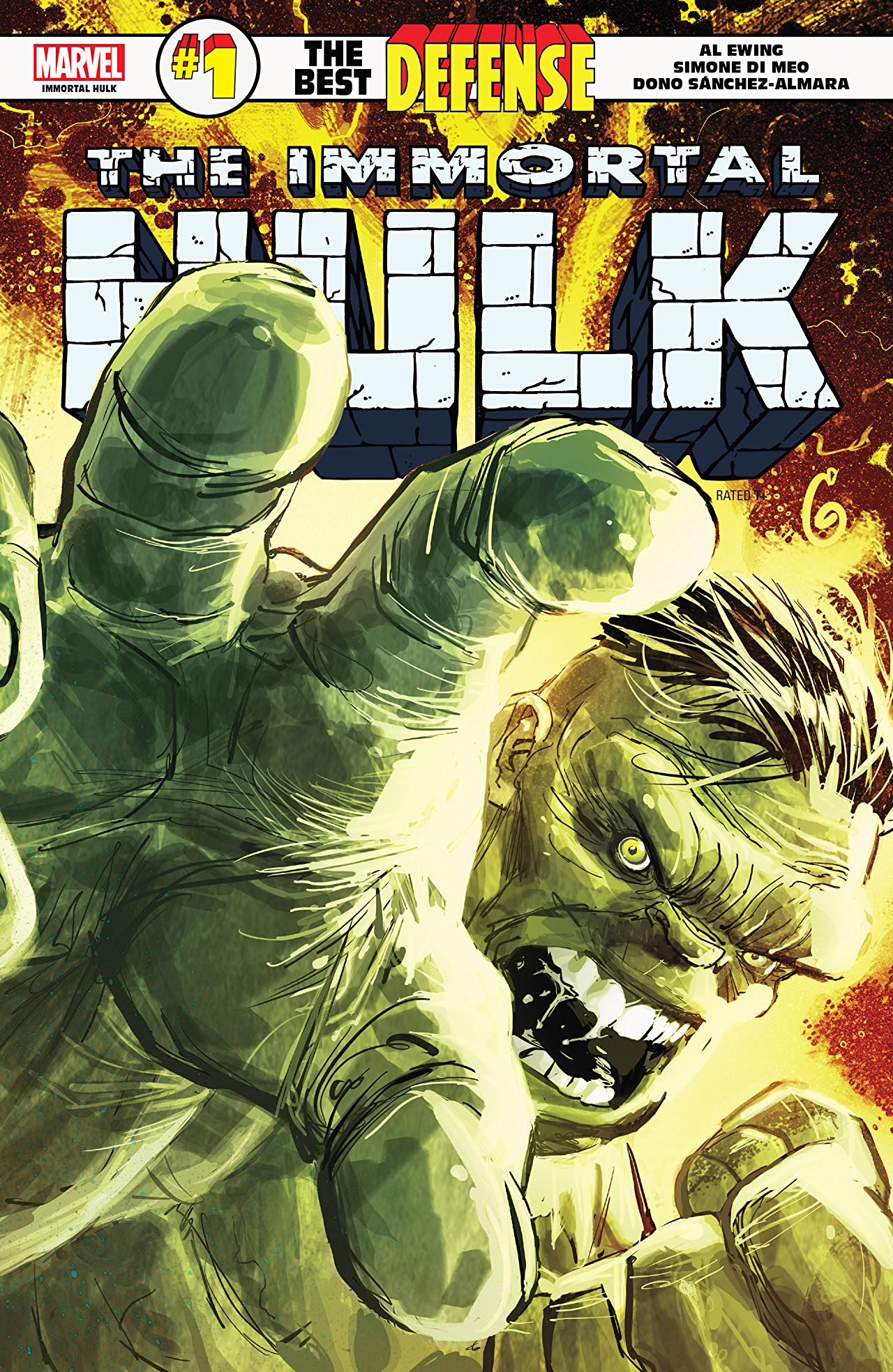 Immortal Hulk: The Best Defense #1 review: Clever, creative storytelling