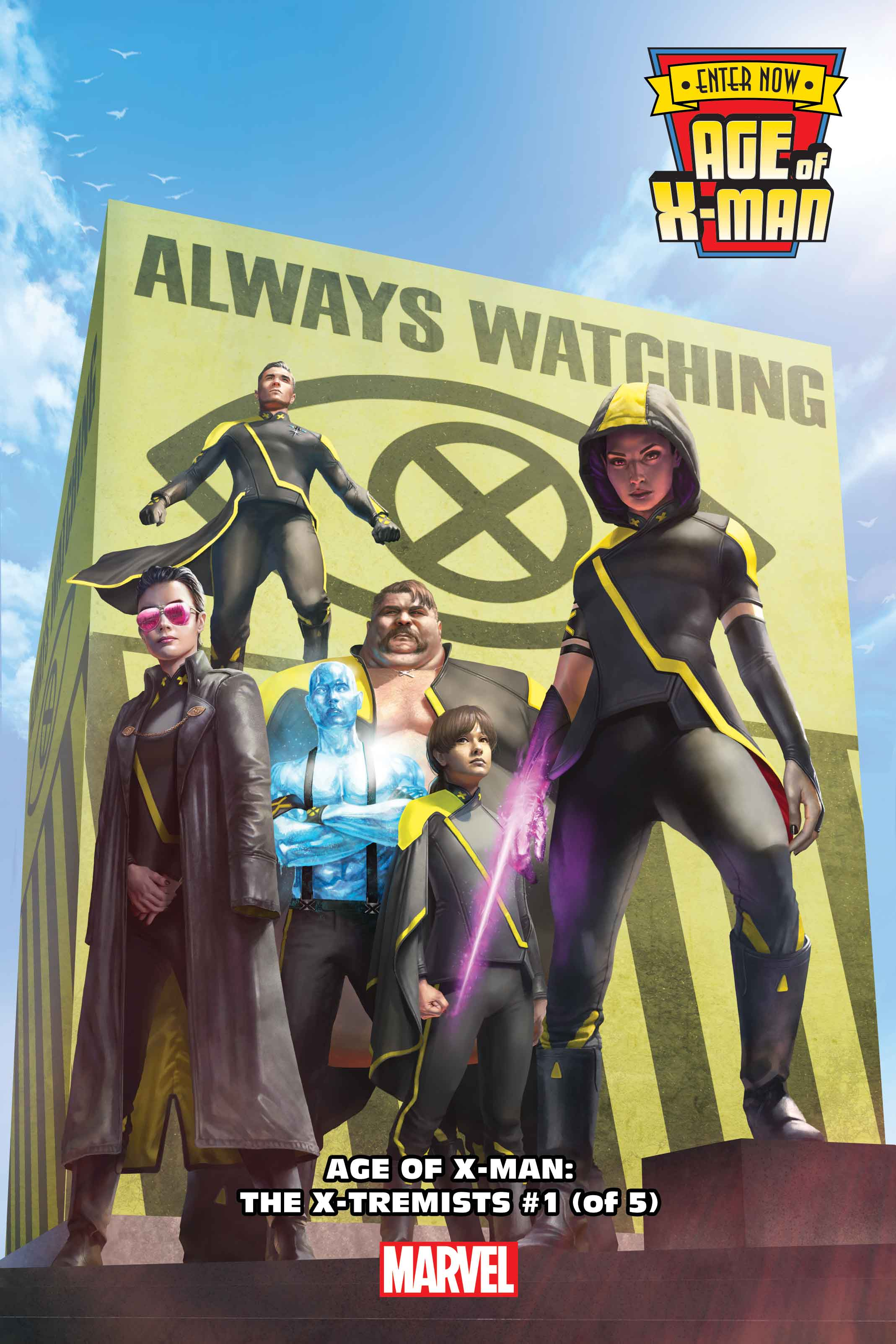 The Age of X-Man dawns…and the X-Men cannot stop it.
