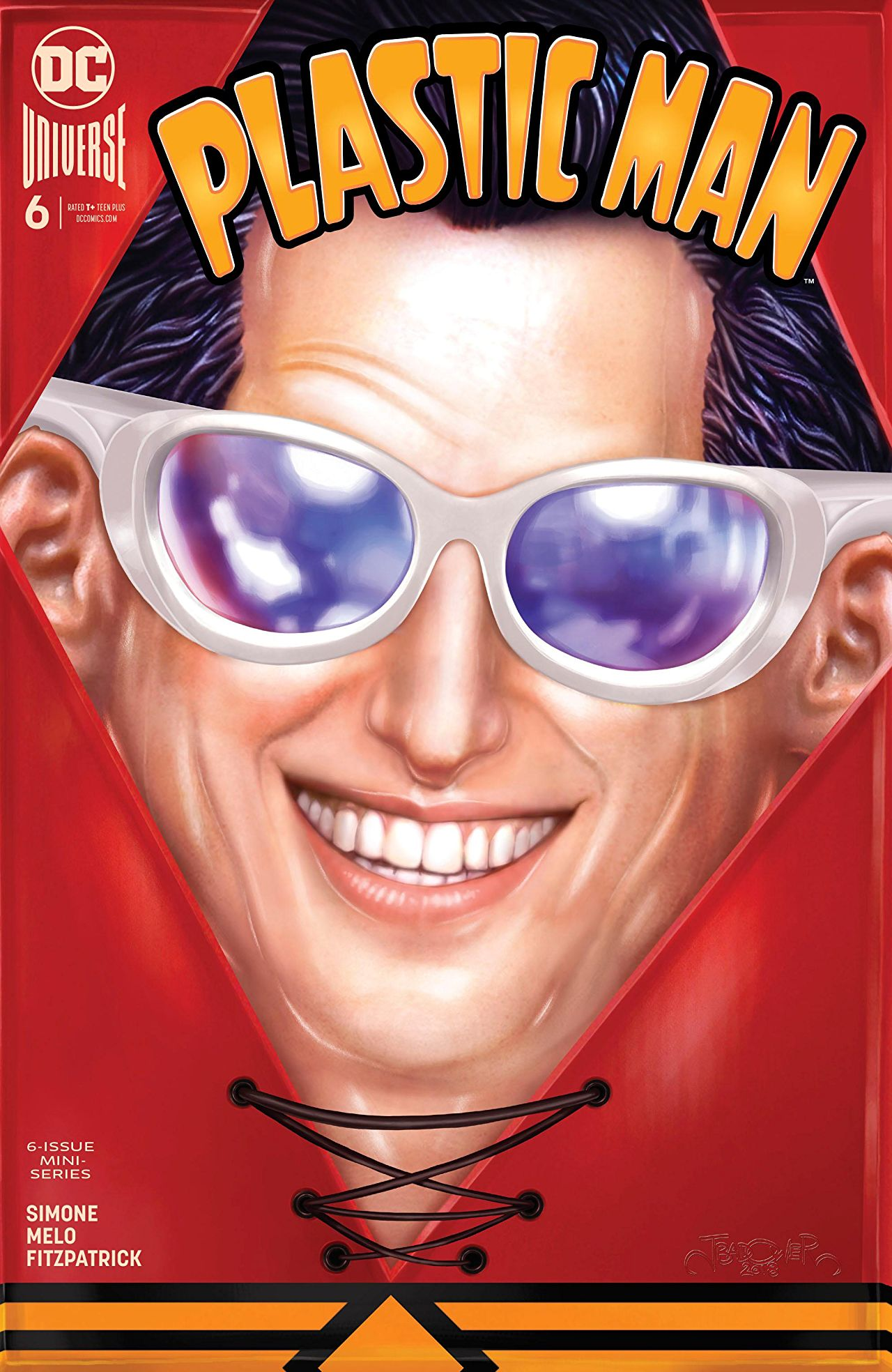 The Plastic Man miniseries ends as well as it began. Definitely a series to recommend to new fans.