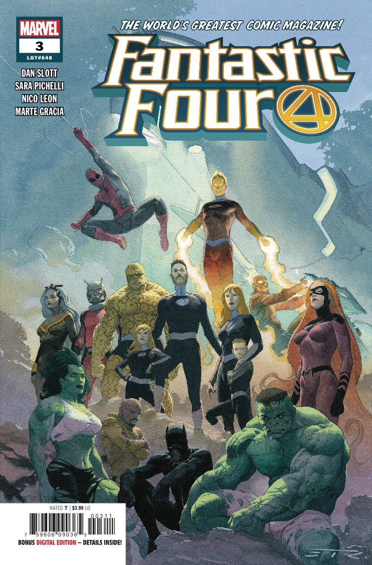 Marvel Preview: Fantastic Four #3