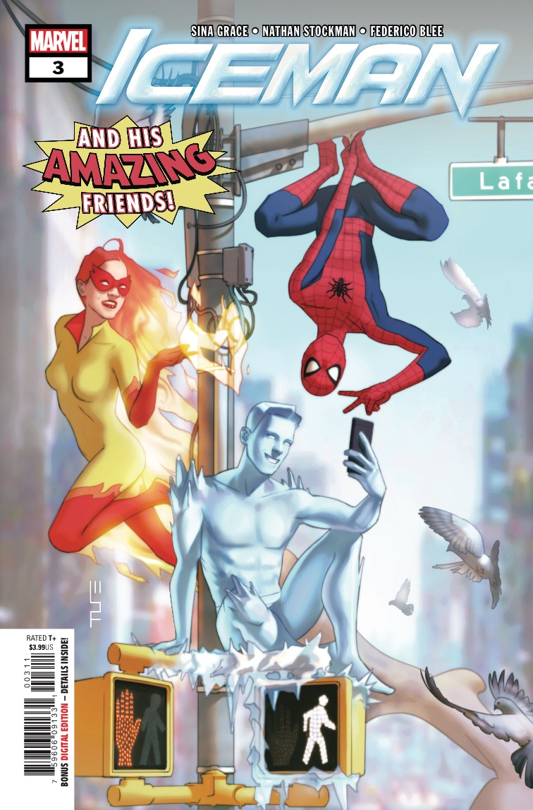Marvel Preview: Iceman #3