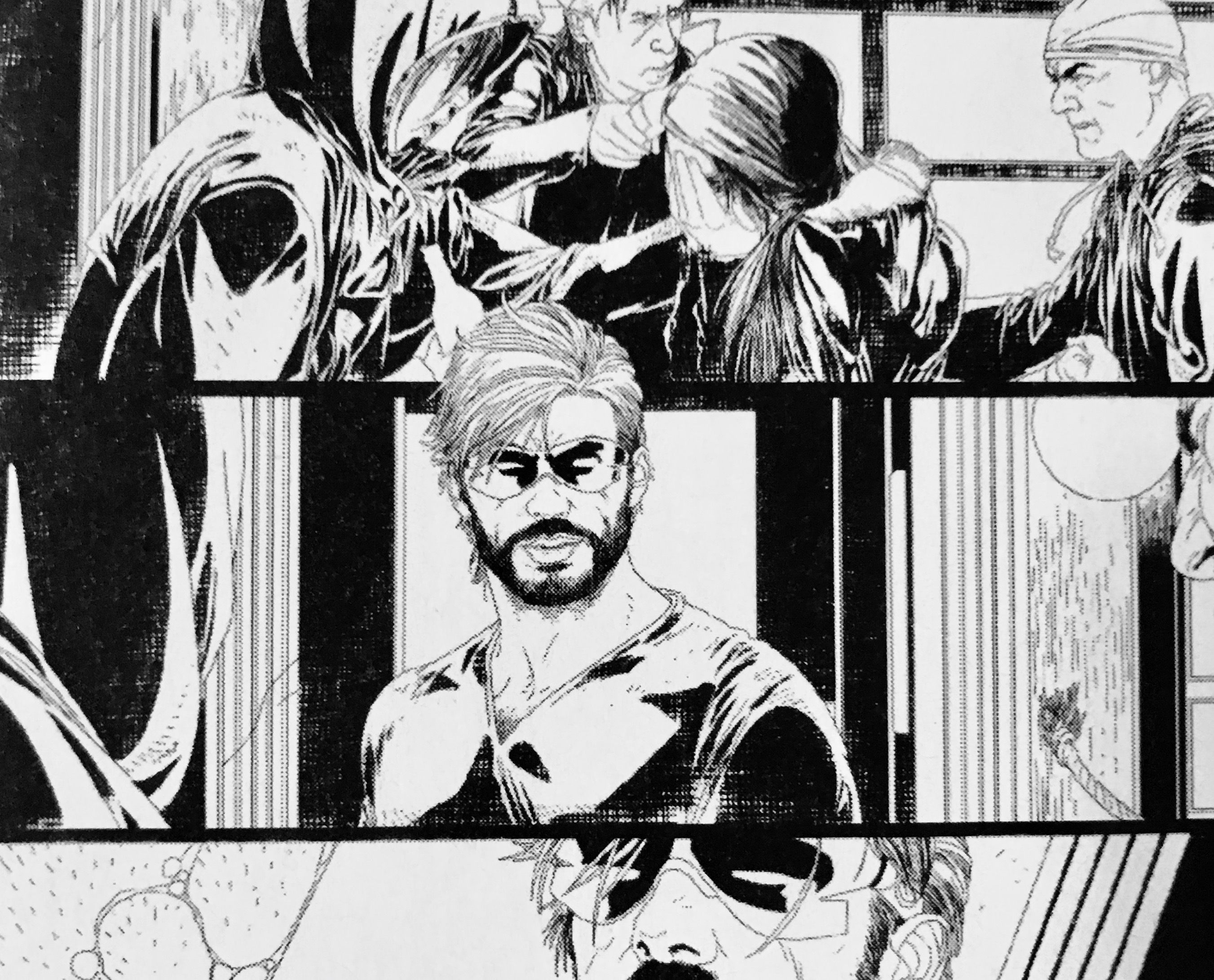 First look at bearded Cyclops in February's Uncanny X-Men #11