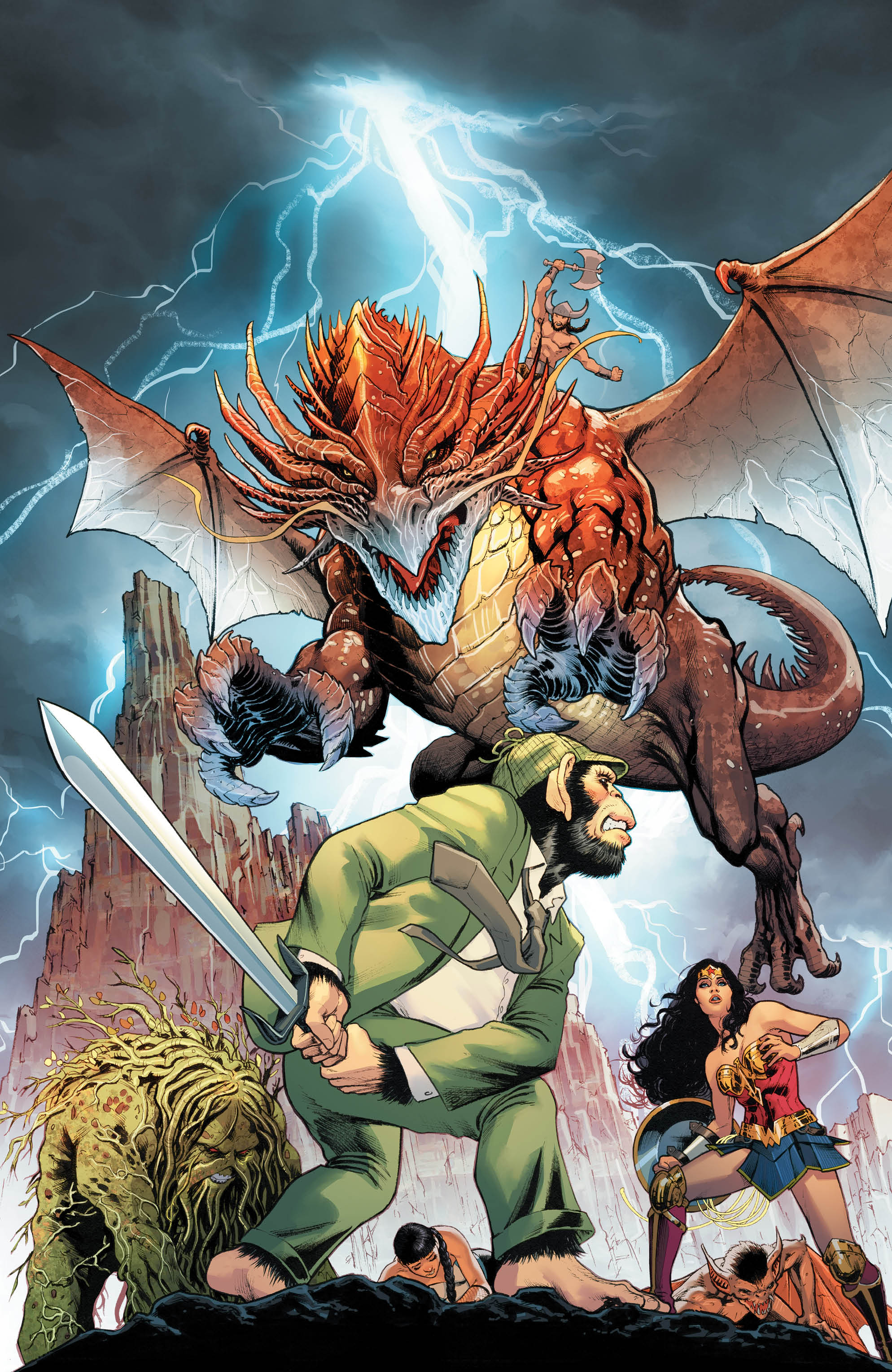 Following the mixed bag of its 'Witching Hour' storyline, Justice League Dark is barreling into the fray of a post magic cataclysm world with eyes on meaningful development for a main cast of characters, ramifications for the world at large, and more grandiose set pieces and twists and turns to come. Does the first issue back to whatever normalcy is for this kooky cast deliver? Mostly! More importantly, though, it remembers to have fun along the way.