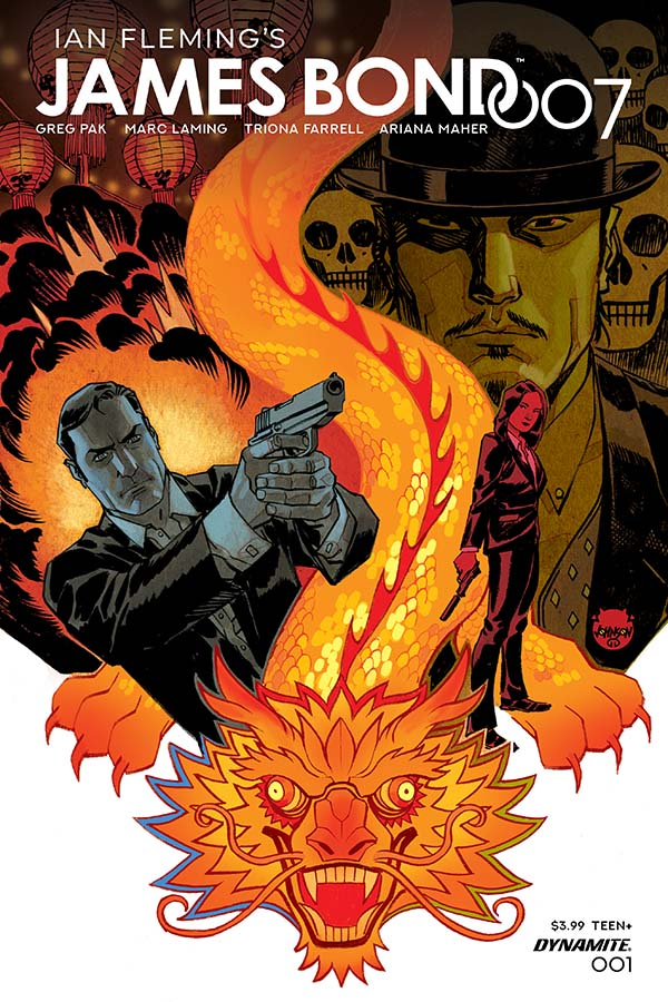James Bond returns in a new series from Dynamite Entertainment!