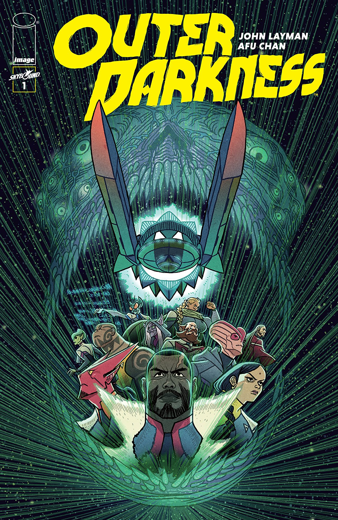 Outer Darkness #1 Review: Simply good sci-fi