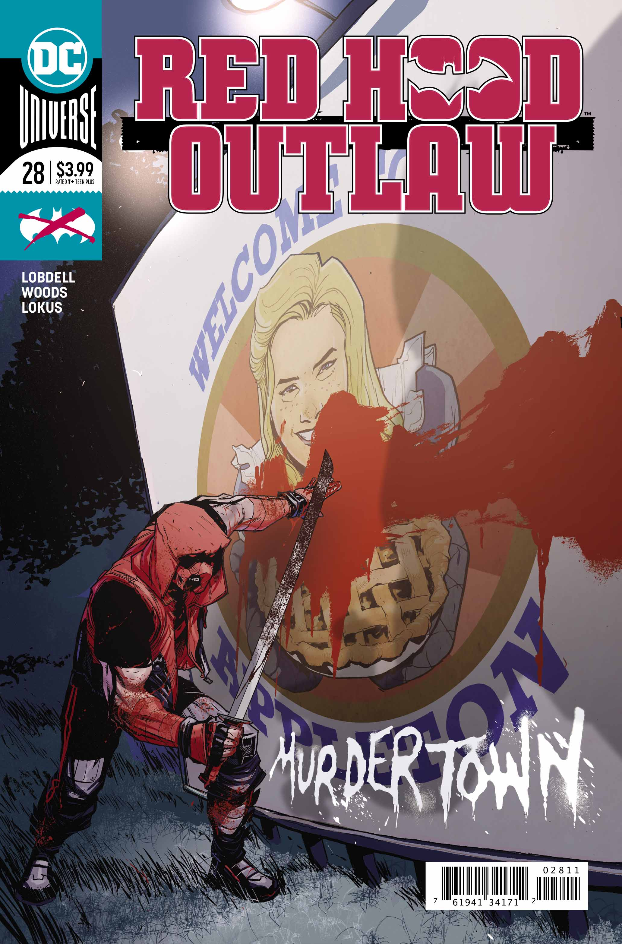 Red Hood: Outlaw #28 is pure action. Really well drawn action, actually. Unfortunately, that's about it.