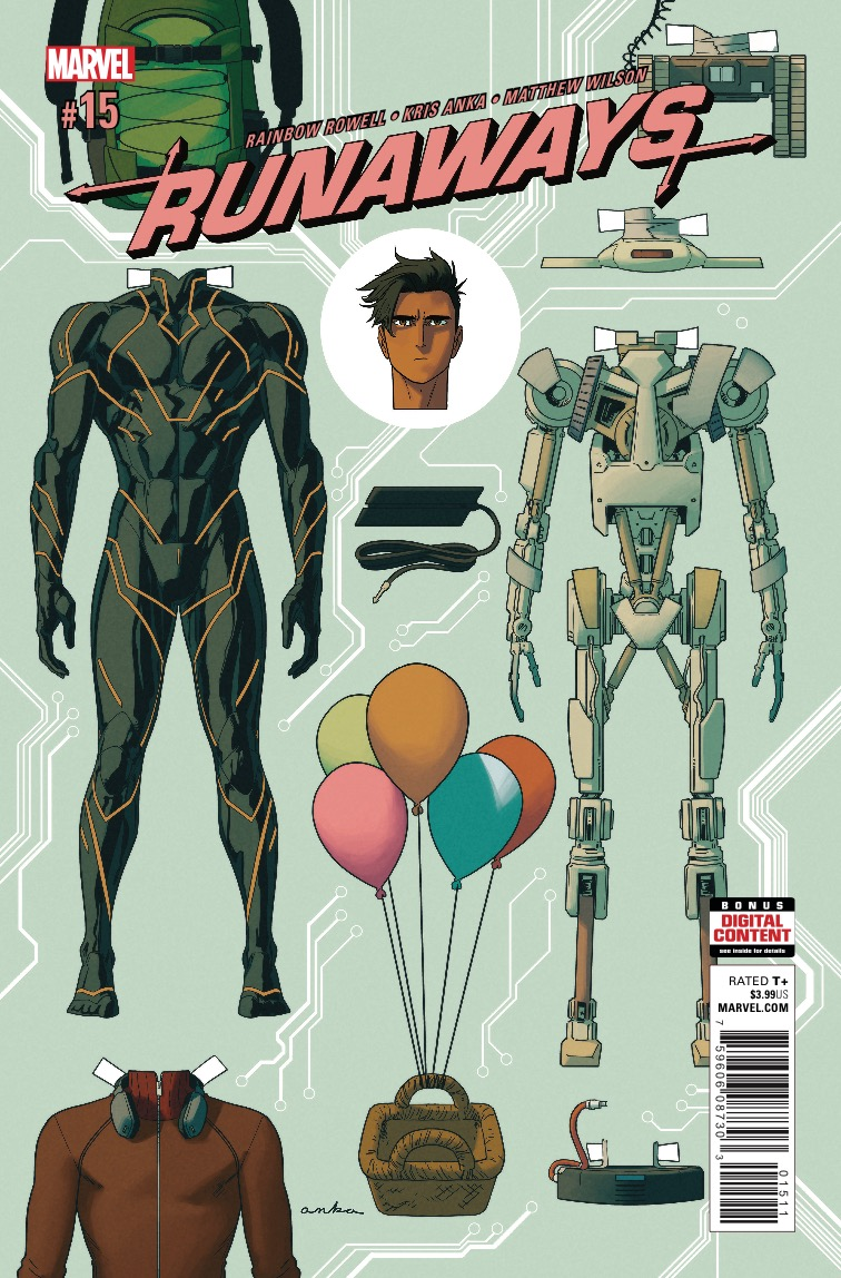 Marvel Preview: Runaways #15
