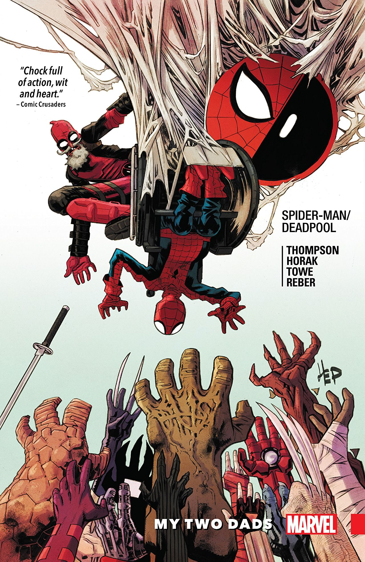 'Spider-Man/Deadpool Vol. 7: My Two Dads' Review: Three things these two dads are very good at