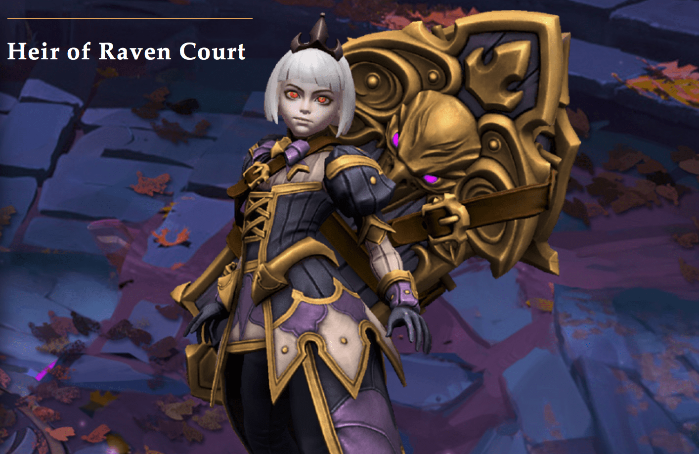 Heroes of the Storm's newest hero is Orphea, Heir of Raven Court and born from the Nexus