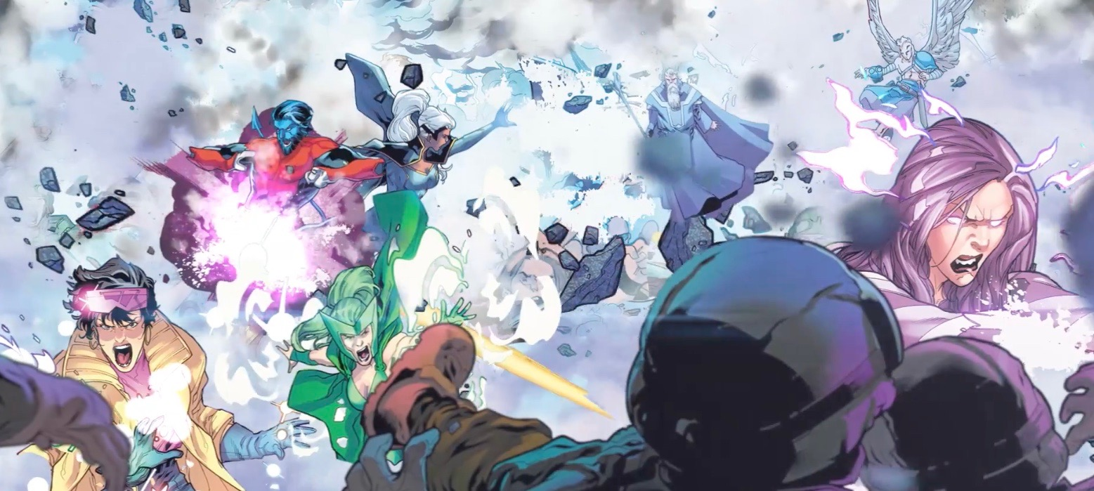 """Things to come: Uncanny X-Men launch trailer debuts new """"X-Men Disassembled"""" art"""