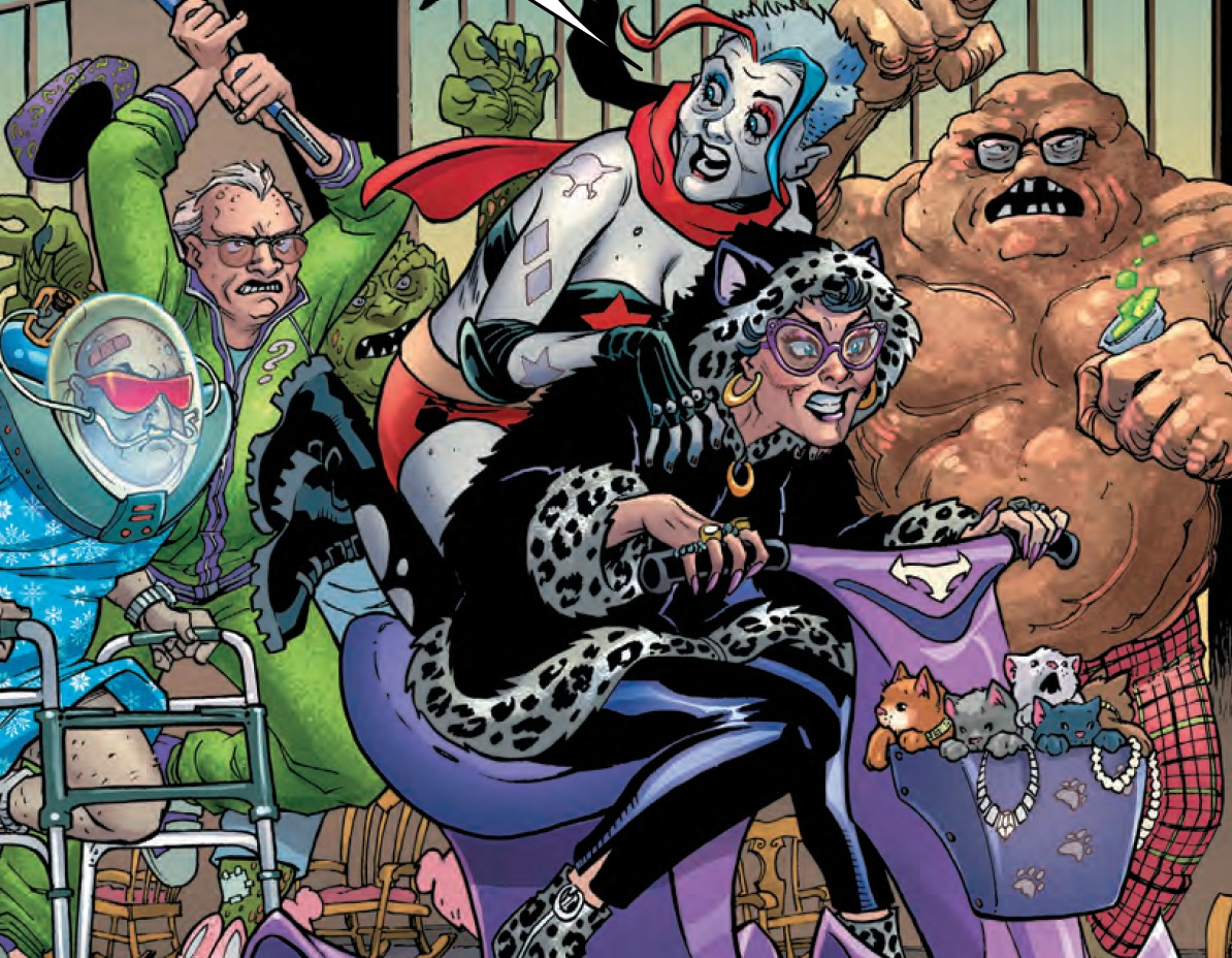 Old Lady Harley #2 Review