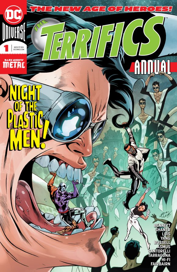 Welcome to an all star creative special annual of The Terrifics! Every story is as great as the one before.