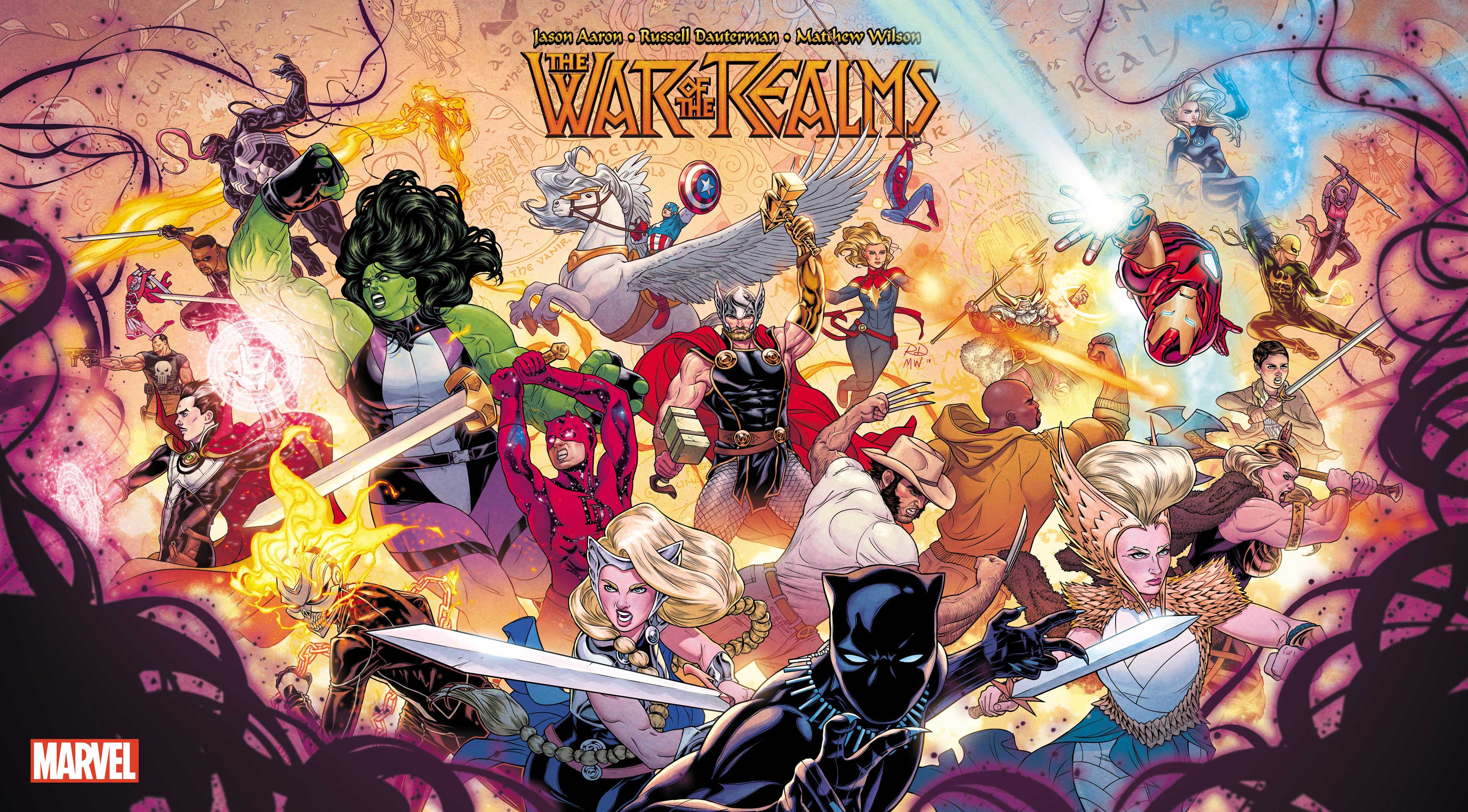 Marvel reveals 10 Runes of the Realms hyping 'War of the Realms' out in April