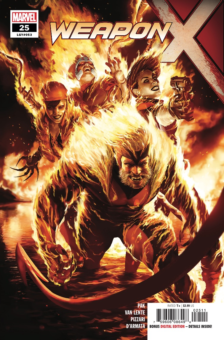 Marvel Preview: Weapon X #25 -  Sabretooth brings some friends