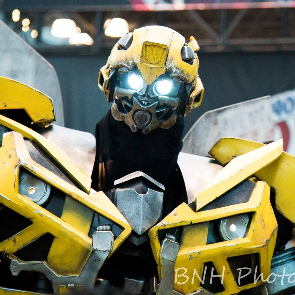 Transformers: Bumblebee cosplay by Extreme_Costumes