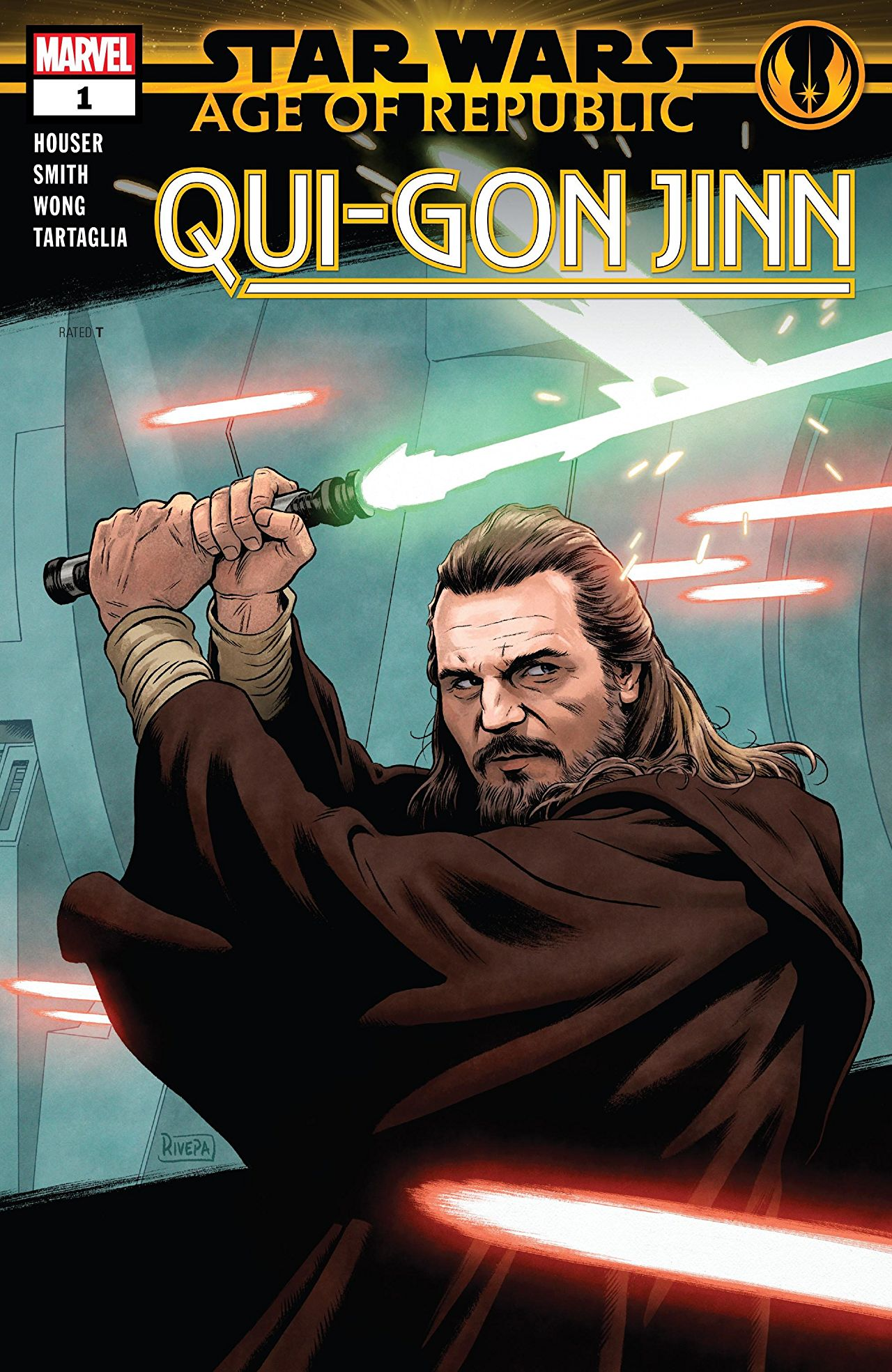 [EXCLUSIVE] Marvel Preview - Star Wars: Age Of The Republic - Qui-Gon Jinn