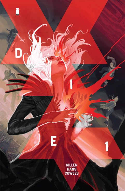 Featuring your first look at the cover of DIE #4!