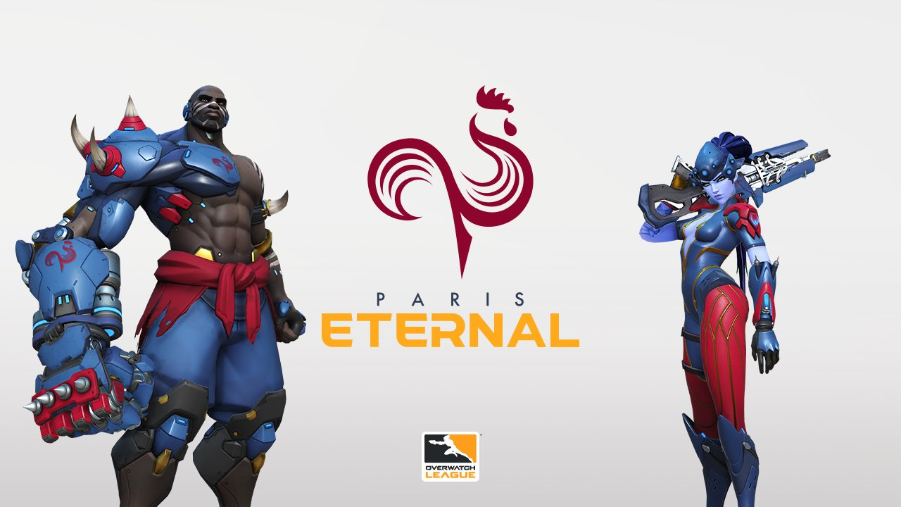 Paris Eternal announced as Paris' new Overwatch League team