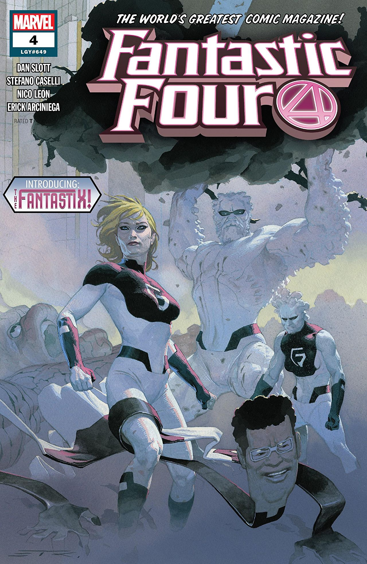 Marvel Preview: Fantastic Four #4