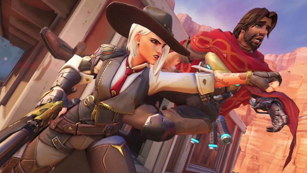 There's a new Overwatch outlaw in town: Ashe.