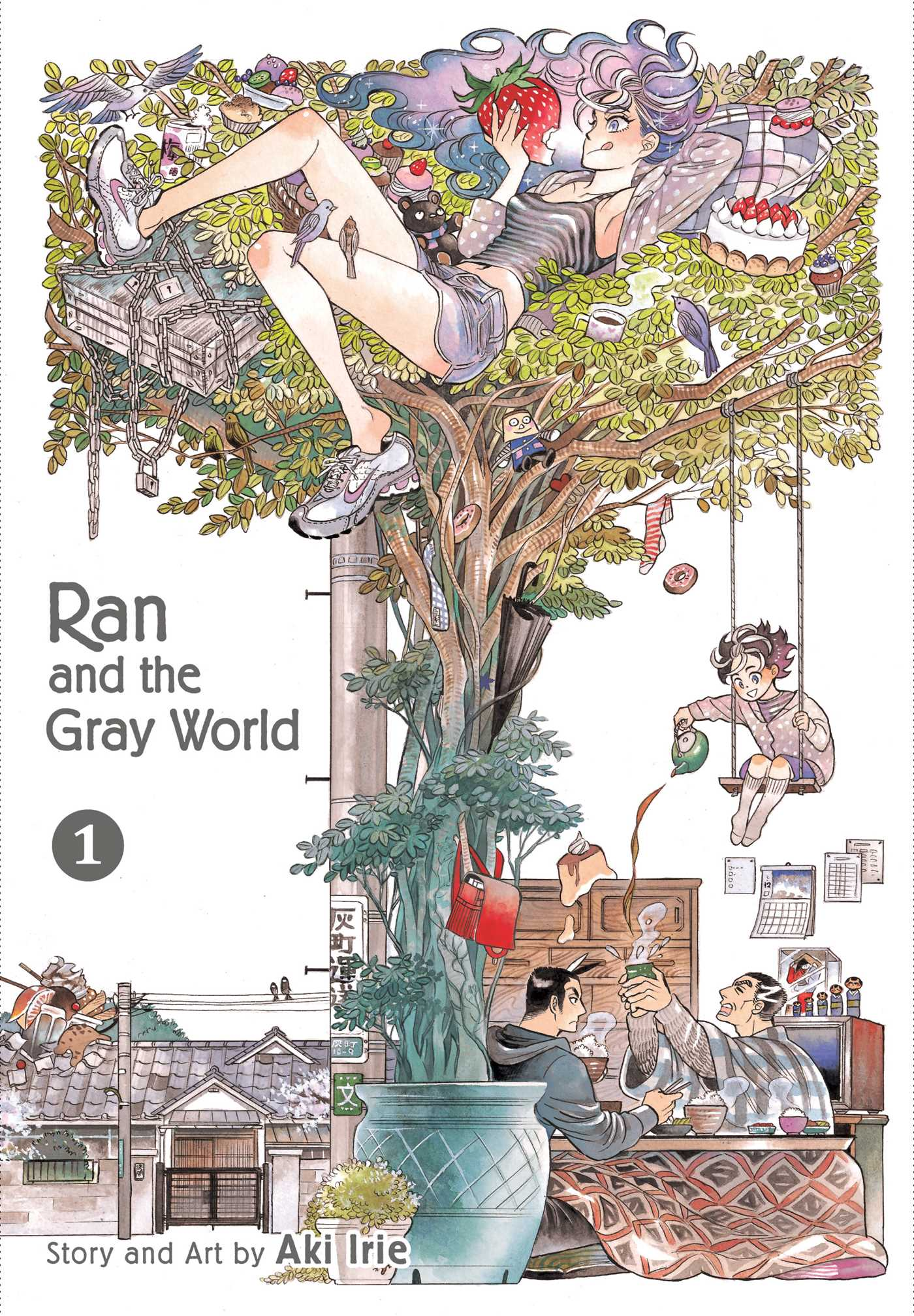 Ran and the Gray World Vol. 1 Review