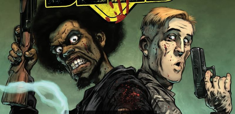 Killer art but a lackluster story plagues Road of the Dead: Highway to Hell #1.
