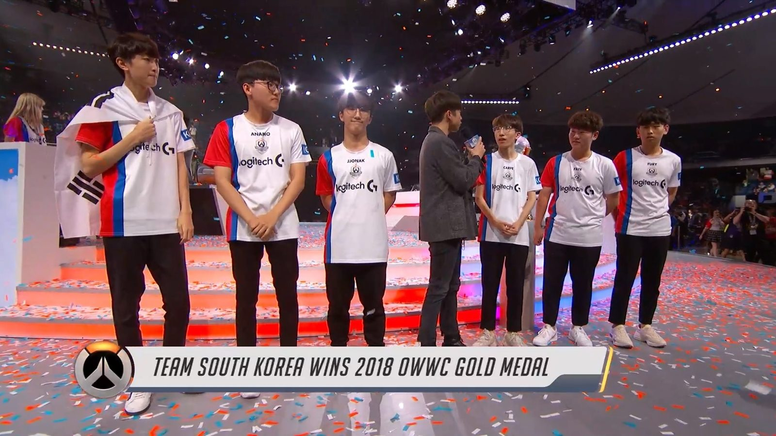 This is South Korea's third straight Overwatch World Cup victory.