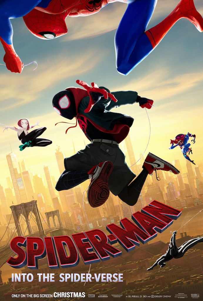First Look: 'Spider-Man: Into the Spider-Verse' character posters including Spider-Gwen, Spider-Ham, and more