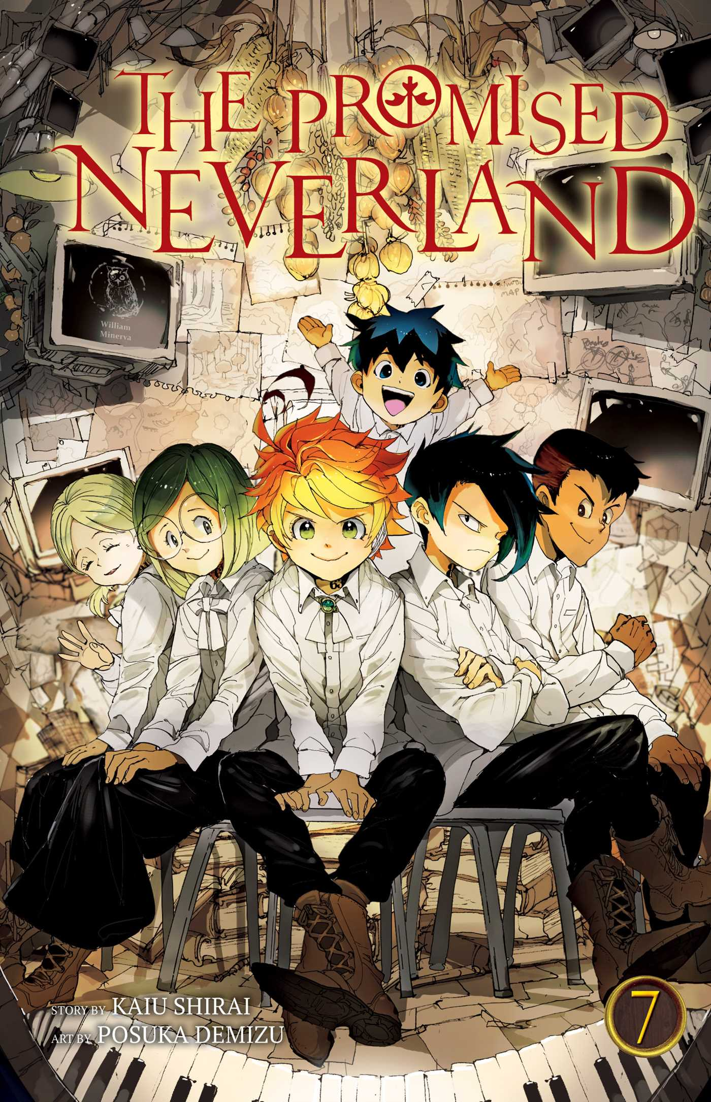 The Promised Neverland Vol. 7 Review