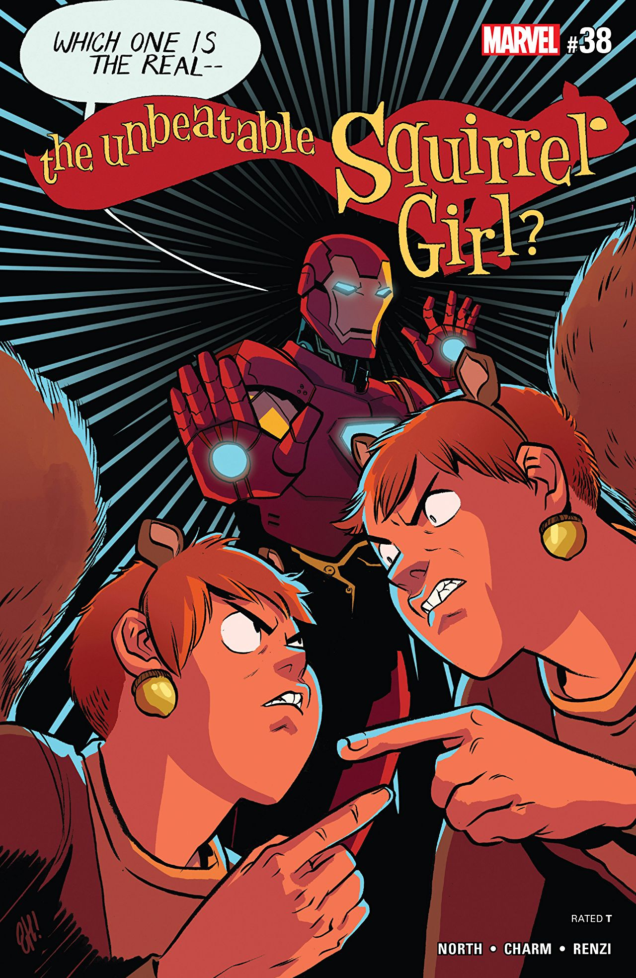 Unbeatable Squirrel Girl #38: Tony learns a new adjective