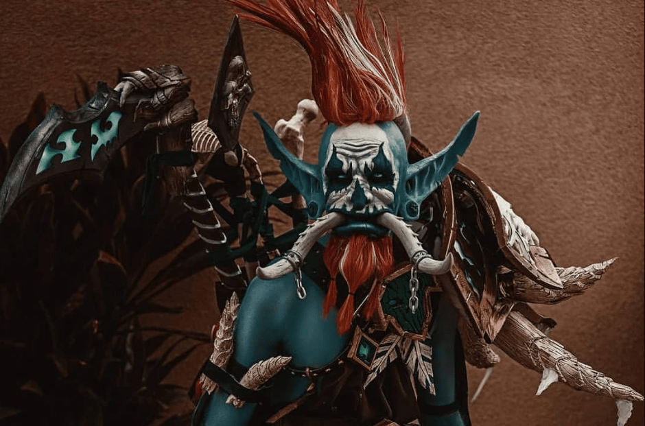 World of Warcraft: Vol'jin cosplay by 89stiles